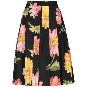 《セール開催中》ANNA RACHELE レディース 7分丈スカート ブラック 42 コットン 97% / ポリウレタン 3%