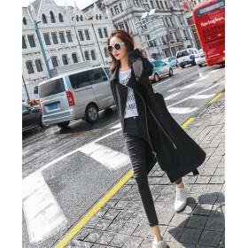 [55555SHOP]2018新品 大人気 縫付 長袖 女性らしい トレンチコート