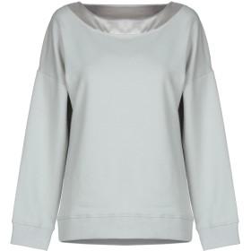 《送料無料》SNOBBY SHEEP レディース スウェットシャツ ライトグレー 42 コットン 95% / ポリウレタン 5%