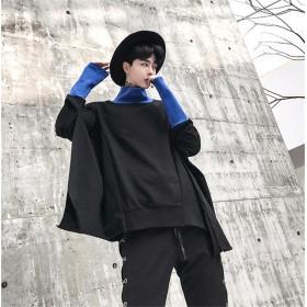 韓国ファッション 新品スニーカー大人気 メンズ ジャケット アウター フートつき バーカー カップル マント