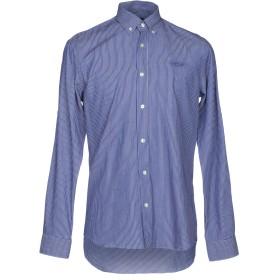 《セール開催中》GALVANNI メンズ シャツ ブルー S コットン 100%