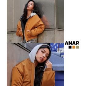 【セール開催中】ANAP(アナップ)フード付中綿ブルゾン