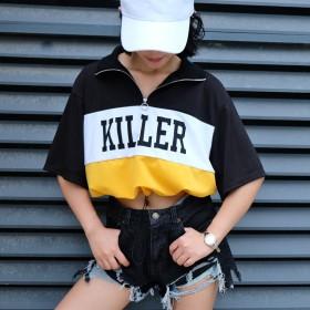 カットソー - another me トップス レディース tシャツ 半袖 カットソー チビT ショート丈シャツ