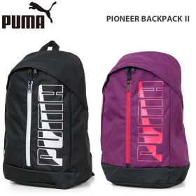プーマ バックパック PUMA 074718 PIONEER BACK PACK Ⅱ パイオニア リュック バッグ ユニセックス パープル