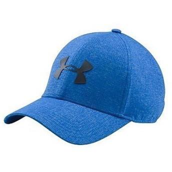 (セール)UNDER ARMOUR(アンダーアーマー)スポーツアクセサリー 帽子 UA COOLSWITCH AV CAP 1291856 メンズ LGXL BLUE MARKER/BLACK
