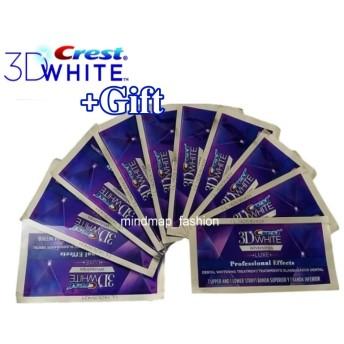 【 箱なし/安心米国製】白い歯♪ 歯に貼るシート♪ 米国 Crest 3D White Luxe クレスト 3Dホワイトストリップス LUXE プロフェッショナル・エフェクト 10回分