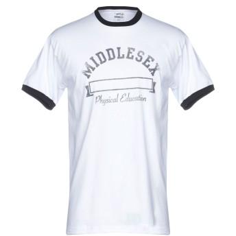 《9/20まで! 限定セール開催中》WILD DONKEY メンズ T シャツ ホワイト XL コットン 80% / ポリエステル 20%