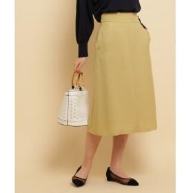 anatelier / アナトリエ ◆【BAILA5月号掲載】ストレートミディ丈スカート