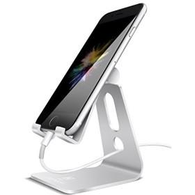 スマホ スタンド 角度調整可能, Lomicall iphone スタンド : 充電スタンド, ホルダー 対応 Nintendo Switch, 携帯電話, アイフォン, iPhone 7 6 6s
