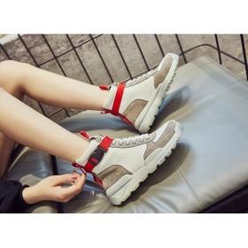 韓国ファッション スニーカー 靴 シューズ ペアルック 男女兼用ローカット レディース 厚底 シューズ 靴 レースアップ 運動靴 スポーツ 美脚 おしゃれ