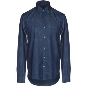 《期間限定セール開催中!》MICHAEL KORS MENS メンズ デニムシャツ ブルー L コットン 100%