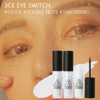3CEアイスイッチ 3CE EYE SWITCH #THROBBING #STUCK #DOUBLE NOTE