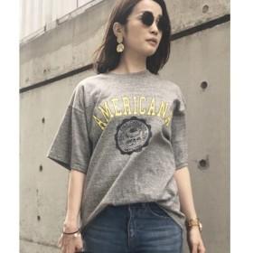 aquagirl / アクアガール Americana ビックシルエットTシャツ