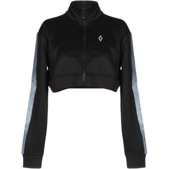 《9/20まで! 限定セール開催中》MARCELO BURLON レディース スウェットシャツ ブラック XS ポリエステル 55% / コットン 45%