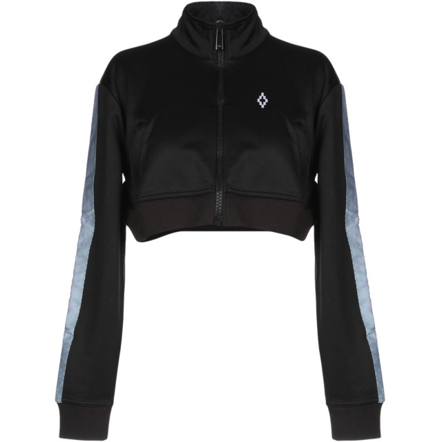 《期間限定 セール開催中》MARCELO BURLON レディース スウェットシャツ ブラック XS ポリエステル 55% / コットン 45%