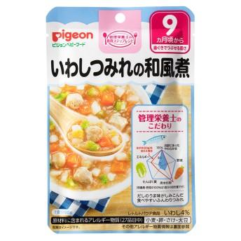 【ピジョン】食育レシピ いわしつみれの和風煮 80g