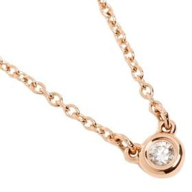 【送料無料】ティファニー TIFFANY & Co. ネックレス アクセサリー ティファニー TIFFANY & Co. 28334192 18K ダイヤモンドバイザヤード 03ct 16IN 18R ペンダント ローズゴールド