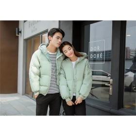 フード付きショットダウン★レディースジャンパー レディースジャケット ダウンジャケット 韓国ファッション