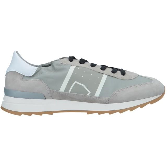《セール開催中》PHILIPPE MODEL メンズ スニーカー&テニスシューズ(ローカット) ライトグレー 39 革 / 紡績繊維