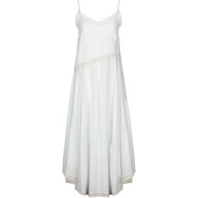 689eb96b98d9b 《送料無料》DV Roma レディース ロングワンピース&ドレス ホワイト XS レーヨン 100%