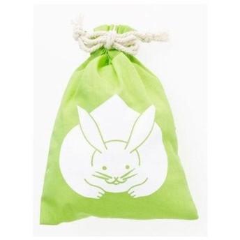 【カヤ】くるみ巾着小 グリーン