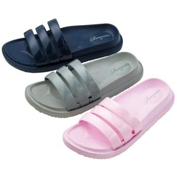 【格安-女性靴】レディース軽量足裏形状インソールサンダル