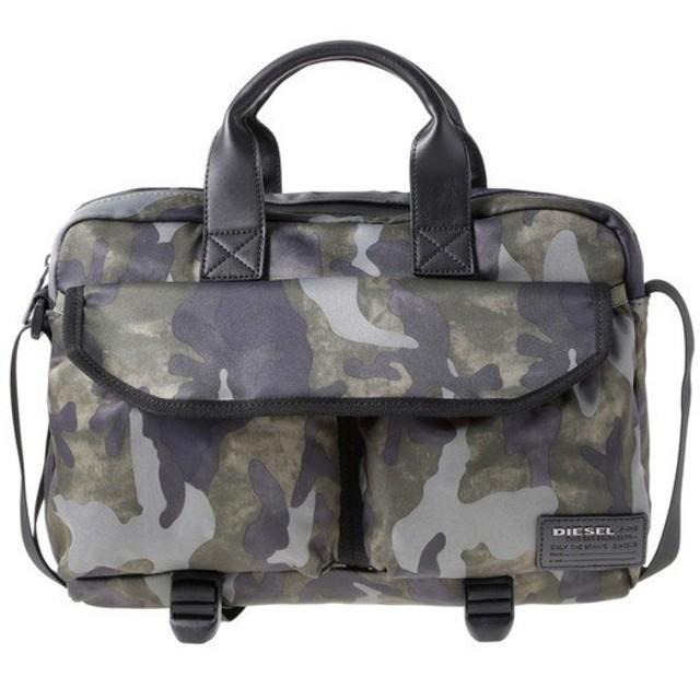 ディーゼル DIESEL X04012PR027H5254 Military Camou ビジネスバッグ