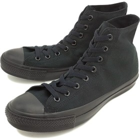 【SALE】コンバース キャンバス オールスター ハイカット CONVERSE ブラックモノクローム (32060187)