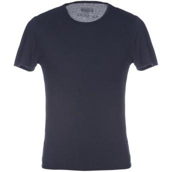 《9/20まで! 限定セール開催中》BLAUER メンズ T シャツ ダークブルー S コットン 100%