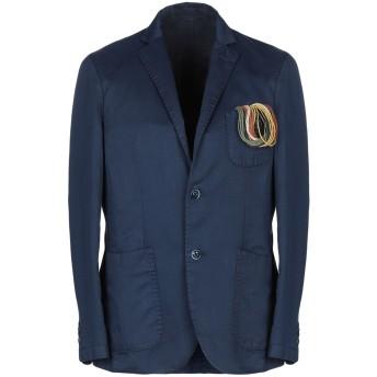 《期間限定セール開催中!》AT.P.CO メンズ テーラードジャケット ブルー 44 51% 麻 49% コットン