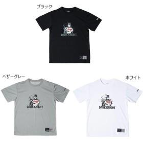 スポルディング メンズ バットマン BATMAN バスケットボールウェア トップス 半袖Tシャツ SMT181300
