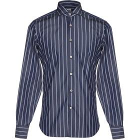 《期間限定セール開催中!》ALESSANDRO GHERARDI メンズ シャツ ブルー 39 コットン 100%