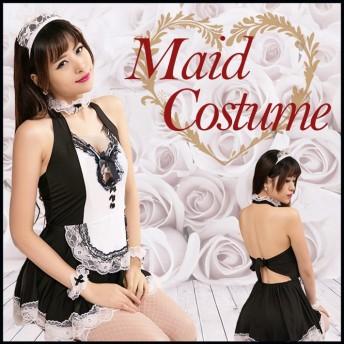【送料無料】メイド服 コスプレ 衣装 セクシー かわいい ハロウィン 宴会 パーティ 仮装 レディース