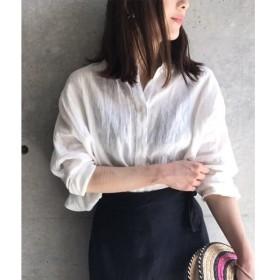 aquagirl / アクアガール 【洗える】リネンドルマンシャツ