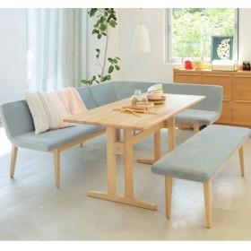 ダイニング4点セット(LFP)(SUITE 4点セット)ラ フォルム ピュア 天然木 ダイニングセット 食卓セット キッチンセット テーブル ベンチ3 シンプル おしゃれ