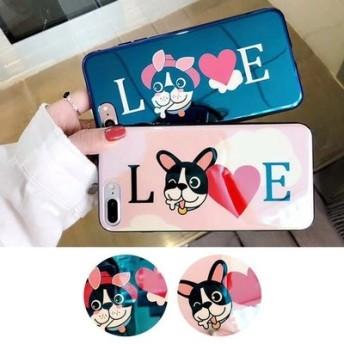 ★送料無料★スマホケース 携帯カバー iphone アニマル ドッグ DOG イラスト LOVE レディース メンズ 携帯 モバイル アイフォン 大人気 最新