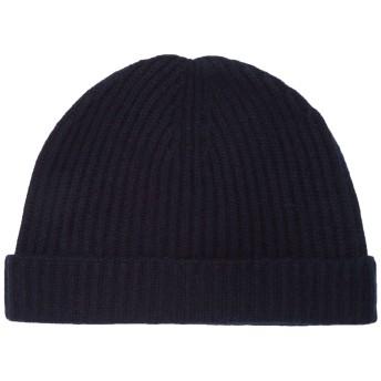 《期間限定セール開催中!》N.PEAL レディース 帽子 ダークブルー one size カシミヤ 100%