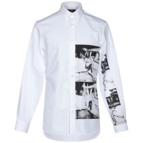 《9/20まで! 限定セール開催中》CALVIN KLEIN 205W39NYC メンズ シャツ ホワイト 37 コットン 100%