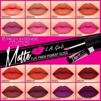 珍しい‼︎2015新発売 LA GIRL マットリキッド口紅、世界中大人気です化粧品日本でここしか手に入らない