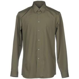 《期間限定 セール開催中》JIL SANDER メンズ シャツ グレー 38 コットン 100%