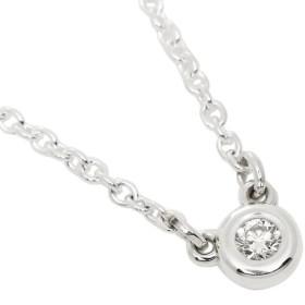 【送料無料】ティファニー ネックレス アクセサリー TIFFANY & Co. 24944387 エルサペレッティ ダイヤモンドバイザヤード 0.03ct ペンダント シルバー