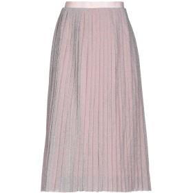 《セール開催中》PINKO レディース 7分丈スカート ピンク 46 ポリエステル 100%