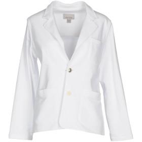 《期間限定 セール開催中》SIBEL SARAL レディース テーラードジャケット ホワイト M コットン 100%
