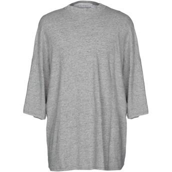 《期間限定セール開催中!》ISABEL BENENATO メンズ T シャツ グレー S コットン 50% / 麻 25% / ラミー 25%