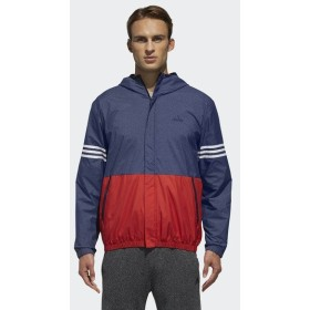 (セール)adidas(アディダス)メンズスポーツウェア ジャケット M SPORTS ID カラーブロックウインドパーカー(裏起毛)FAT25 DH3989 メンズ カレッジネ...