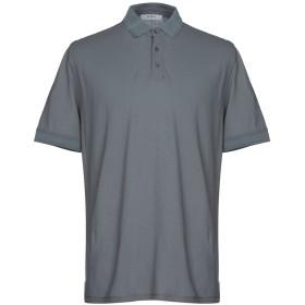 《期間限定セール開催中!》ALPHA STUDIO メンズ ポロシャツ 鉛色 54 コットン 100%