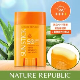 【1+1】 NATURE REPUBLIC / EXO使用 ネイチャーリパブリック カリフォルニアアロエサンスティック/ sun stick / 日焼け止め / サンスティック / サンクリーム