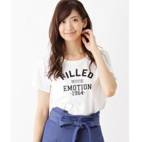 HusHusH / ハッシュアッシュ カレッジロゴ Tシャツ