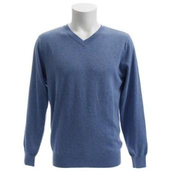 PGAC(PGAC) 【ゼビオオンラインストア価格】Vネックセーター 871PA8JW3341BLU (Men's)
