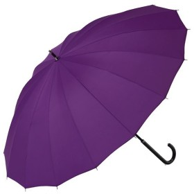 【13%OFF】 BACKYARD FAMILY 雨に濡れると柄が浮き出る傘 桜雫手開き16本骨傘 レディース パープル 桜雫手開き傘 【BACKYARD FAMILY】 【セール開催中】